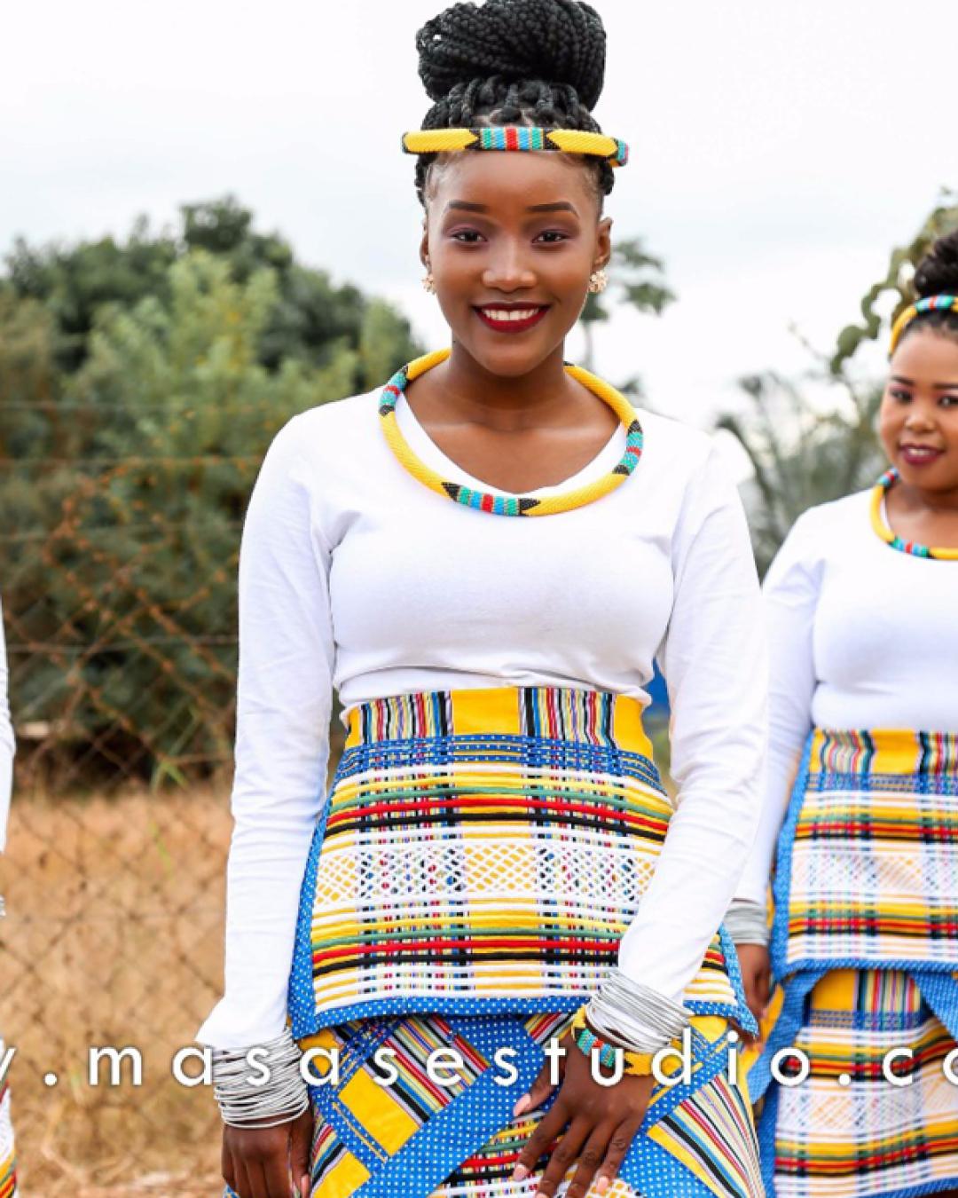 Venda Traditional Modern Dresses: Tshi-Venda Traditional Attire