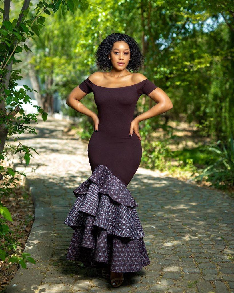 Brown shweshwe dresses