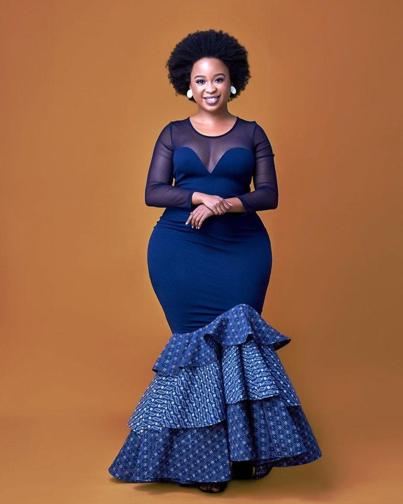 shweshwe dresses for Makoti